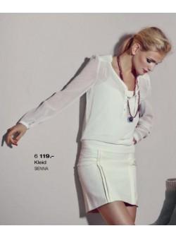 SIENNA, rochie alba eleganta, S
