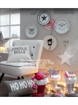 Stea portelan Merry Christmas, H 30cm, deco Craciun
