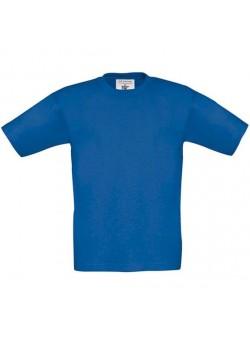Tricou bumbac albastru