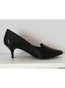 pantofi piele negri gerry weber, mar 38