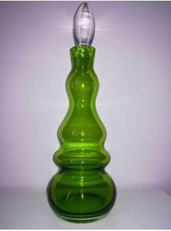 carafa verde din sticla, 1,5 l