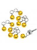Breloc cu Smiley, Happy