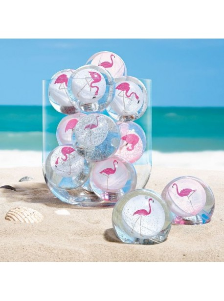 Minge cu flamingo si leduri , jucarie pentru petreceri