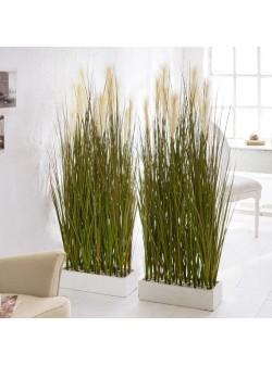 Ghiveci cu planta artificiala, H 153 cm