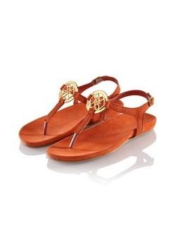Lis du Perou, sandale din piele, caramizii, mar 40