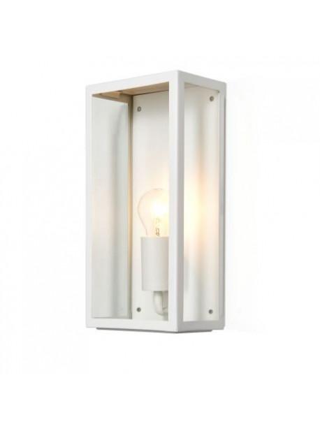 Lampa electrica de exterior alba