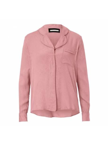 Bluza cu nasturi roz