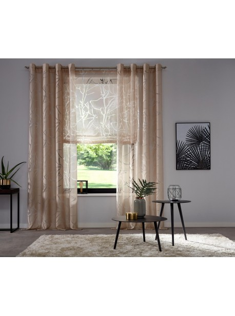 Perdea bej Anna , H 245 x L 140 cm , My Home