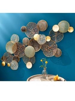 Obiect decorativ metalic de perete Casablanca , 133x67 cm
