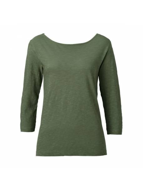 Tricou bumbac verde , Sienna